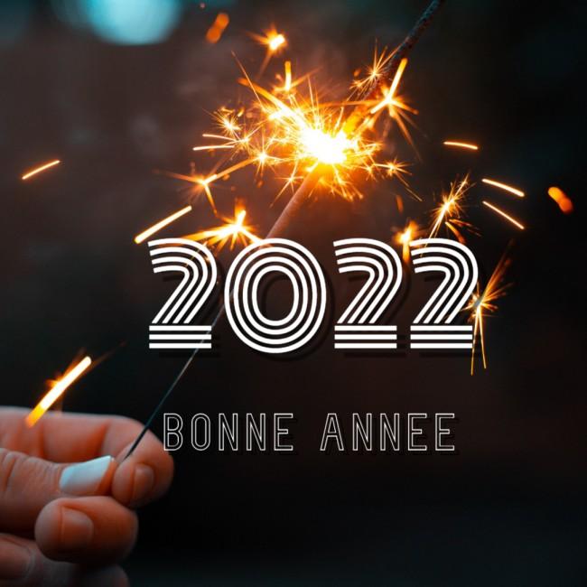 Image Bonne annee 2022