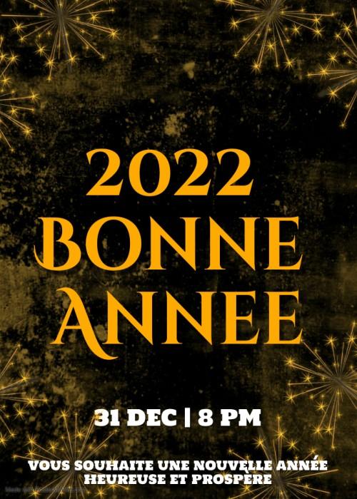 voeux Anime bonne annee 2022 image