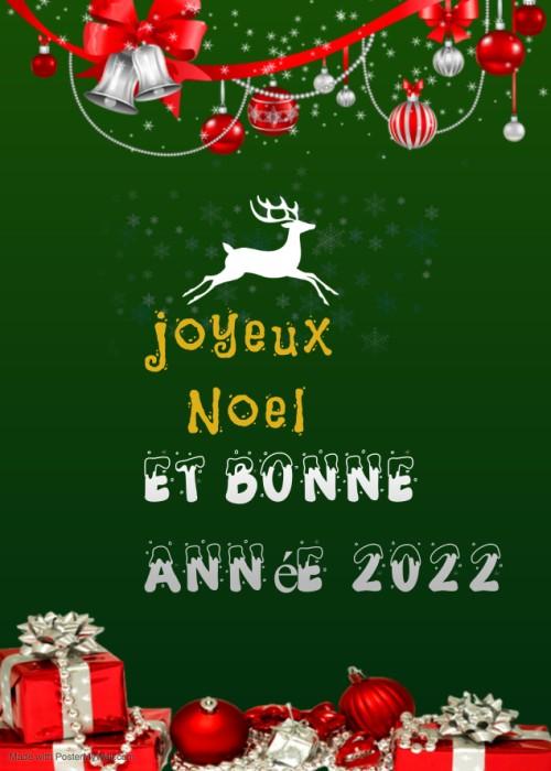 joyeux noël Message Images et bonne année 2022