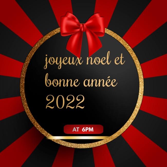 Images joyeux noel et bonne année 2022 Message
