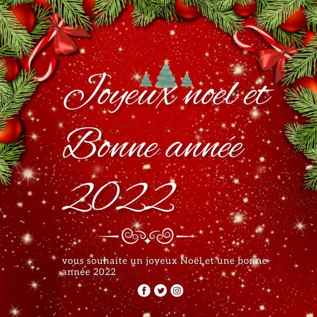 Images joyeux noël et bonne annee 2022