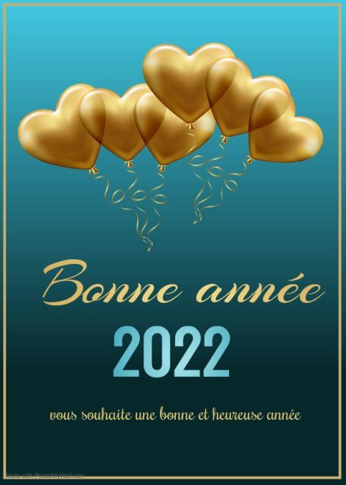 image bonne année 2022 gratuite