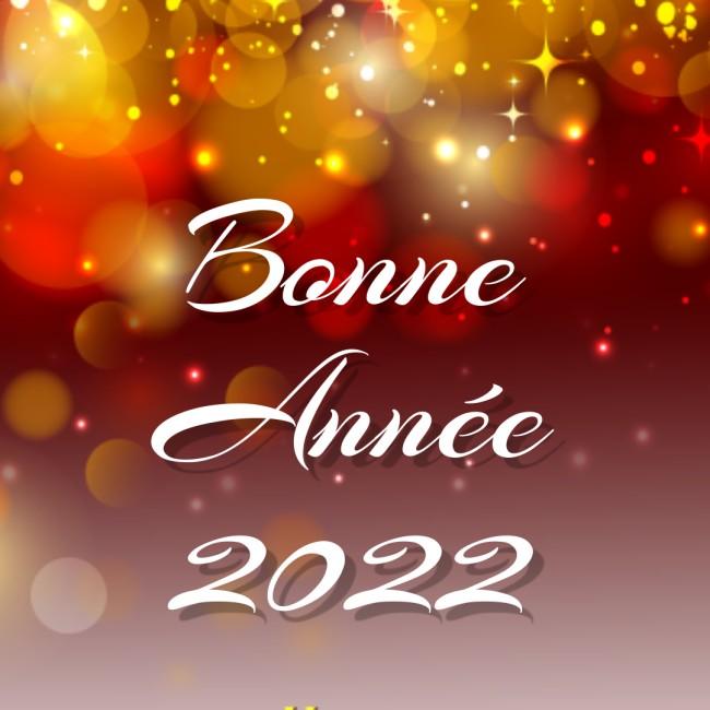 Bonne annee Humour Carte de Voeux 2022