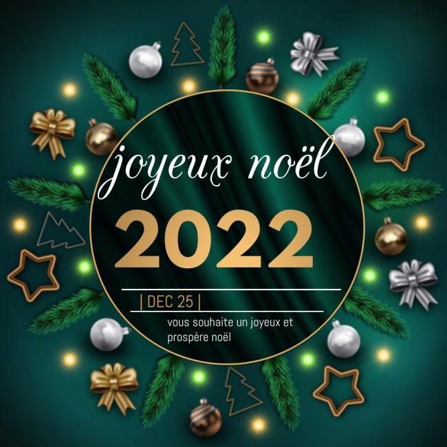 2022 Bonne annee Cart